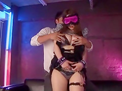 Exotic Japanese slut in Incredible Threesomes, Fetish JAV movie