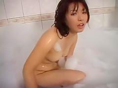 Incredible Japanese girl Akane Ozora in Crazy Showers JAV scene
