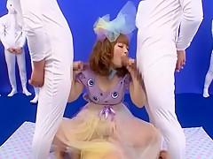 Amazing Japanese slut Ami Morikawa in Fabulous Cumshots, Cosplay JAV scene