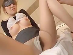Incredible Japanese girl Mika Mizuno, Cocomi Naruse, Miu Moritani in Crazy Cunnilingus, Stockings/Pansuto JAV video