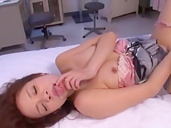 Incredible Japanese chick Shelly Fujii in Fabulous Cougar JAV clip