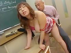 Hottest Japanese slut Emi Ohhashi, Reiko Naho, Misaki Gotoh in Incredible Cougar, Fingering JAV video