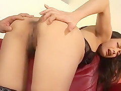 Hottest Japanese girl in Crazy Ass, Anal/Anaru JAV video