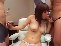 Crazy Japanese model in Incredible Cumshots, Big Tits JAV clip