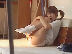 Best Japanese whore in Crazy Teens, Softcore JAV video