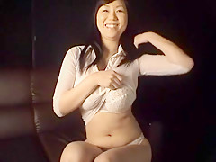 Incredible Japanese girl in Fabulous Striptease, Softcore JAV scene