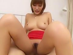 Exotic Japanese chick in Amazing POV JAV movie