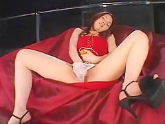 Crazy Japanese whore Nana in Exotic Lingerie, Masturbation/Onanii JAV scene