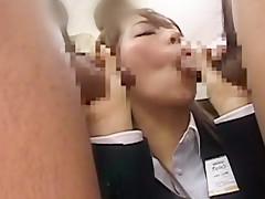 Hottest Japanese girl in Incredible Public, Secretary JAV movie