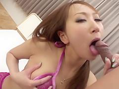 Crazy Japanese girl Anna Mizukawa in Amazing JAV uncensored Cumshots movie