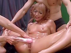 Best Japanese whore Kyoko in Crazy JAV uncensored Hardcore video