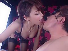 Best Japanese chick Tina Yuzuki in Hottest POV, Lingerie JAV clip