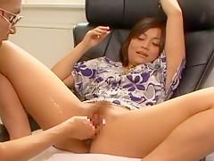 Horny Japanese slut Yuuka Matsushita in Hottest Masturbation/Onanii, Fisting JAV scene