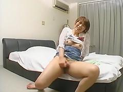 Hottest Japanese slut Emi Ohhashi, Reiko Naho, Misaki Gotoh in Crazy Cunnilingus, Voyeur JAV clip
