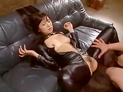 Crazy Japanese chick Nana Ogura in Incredible Doggy Style, Facial JAV scene