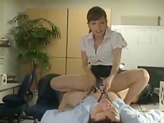 Horny Japanese whore Miyuki Yokoyama in Fabulous Office JAV movie