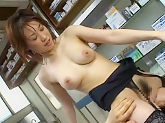 Incredible Japanese chick Natsuki Mochida in Best Big Tits, Cunnilingus JAV clip