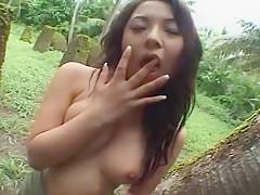 Exotic Japanese whore Kaede Fujisaki in Hottest Outdoor, Dildos/Toys JAV scene