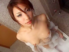 Hottest Japanese girl Aya Sakuraba in Crazy Showers, Lingerie JAV clip