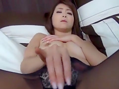Exotic Japanese model Maki Hojo in Amazing MILFs JAV video