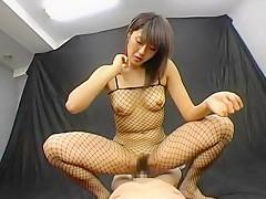 Incredible Japanese model Nagisa in Exotic Lingerie JAV movie
