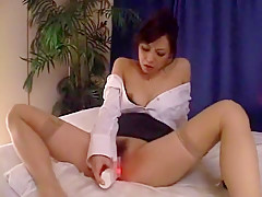 Incredible Japanese chick Natsumi Horiguchi in Best Solo Girl, Secretary JAV scene