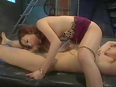 Horny Japanese whore Mayumi Hatano, Riko Tachibana, Megu Shirosaki in Incredible MILFs JAV movie