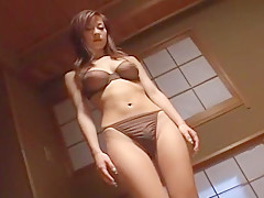 Exotic Japanese slut Ryo Uehara in Hottest JAV clip