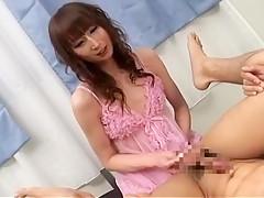 Fabulous Japanese slut in Incredible Lingerie, /Futanari JAV video