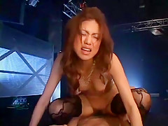 Best Japanese whore Yuri Matsushima in Amazing Dildos/Toys, Stockings/Pansuto JAV scene