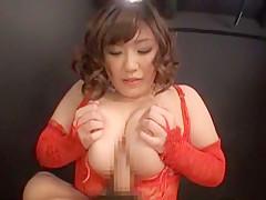 Horny Japanese slut in Incredible Big Tits, BBW JAV movie