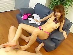 Crazy Japanese whore Akane Hotaru in Exotic Foot Fetish JAV movie