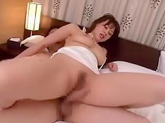 Incredible Japanese slut Karen Mizusaki in Horny Threesomes JAV movie
