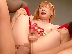 Exotic Japanese whore in Crazy Small Tits, Stockings JAV video