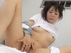 Best Japanese whore Nana Saeki, Meguru Kosaka, Tsubaki Katou in Crazy Lesbian/Rezubian, Medical JAV video