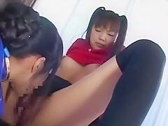 Horny Japanese whore Rika Hayama, Mayura Hoshizuki, Ruri Housyou in Crazy JAV scene