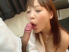 Incredible Japanese chick Momoka Rin in Exotic JAV uncensored Cumshots movie