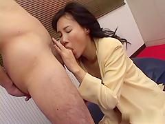 Best Japanese slut in Crazy JAV uncensored Blowjob video