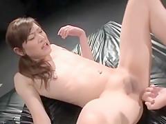 Best Japanese slut in Fabulous /Futanari, Small Tits JAV video
