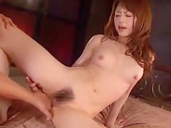 Incredible Japanese chick Akiho Yoshizawa in Exotic Skinny JAV scene