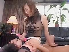 Incredible Japanese slut in Exotic Lingerie JAV scene