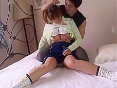 <出演AV女優:美竹涼子>笑顔が可愛いミニマムボディー美少女との着ハメが凄いエロい