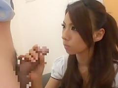 <出演AV女優:瀧澤まい・伊東あずさ>素晴らしく清楚で美しい美女のチンポフェラ!