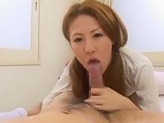 Crazy Japanese girl hiromi in Exotic Medical JAV movie