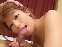 Best Japanese slut Nozomi Nishiyama, Yurie Shinohara, Chika Eiro in Fabulous Blowjob, Fingering JAV clip