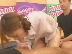 Crazy Japanese slut Marin Aono, Aiko Endo, Jun Mamiya in Fabulous Threesomes JAV scene