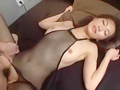 Horny Japanese model Aoki Misora in Crazy POV, Blowjob JAV clip