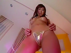 Best Japanese girl Aiko Morishita in Horny Fetish, Stockings JAV movie