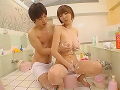 Fabulous Japanese chick Hikari Hino in Hottest Cunnilingus, Blowjob JAV clip