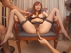 Exotic Japanese model Yua Aida in Horny Facial, Threesomes JAV scene